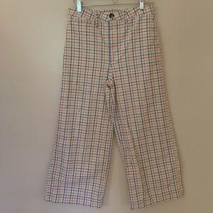 Madewell Emmett Wide-Leg Crop Pants